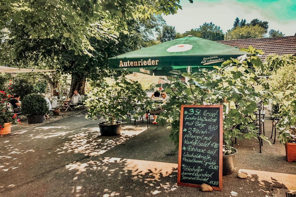 geheimtipp Augsburg biergarten – ©Waldgaststätte Peterhof