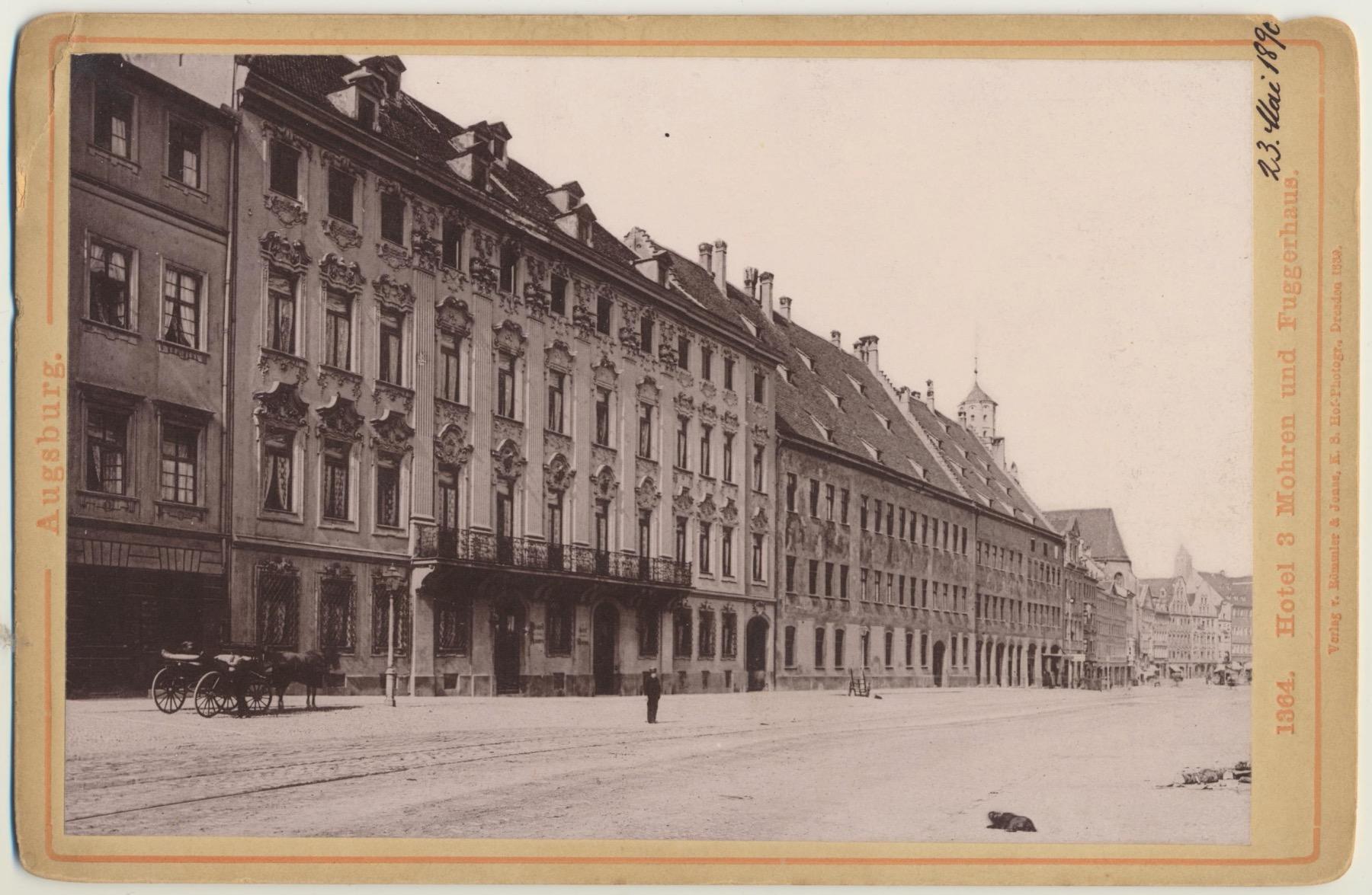 Drei Mohren 1890  – ©Privatsammlung: Gregor Nagler