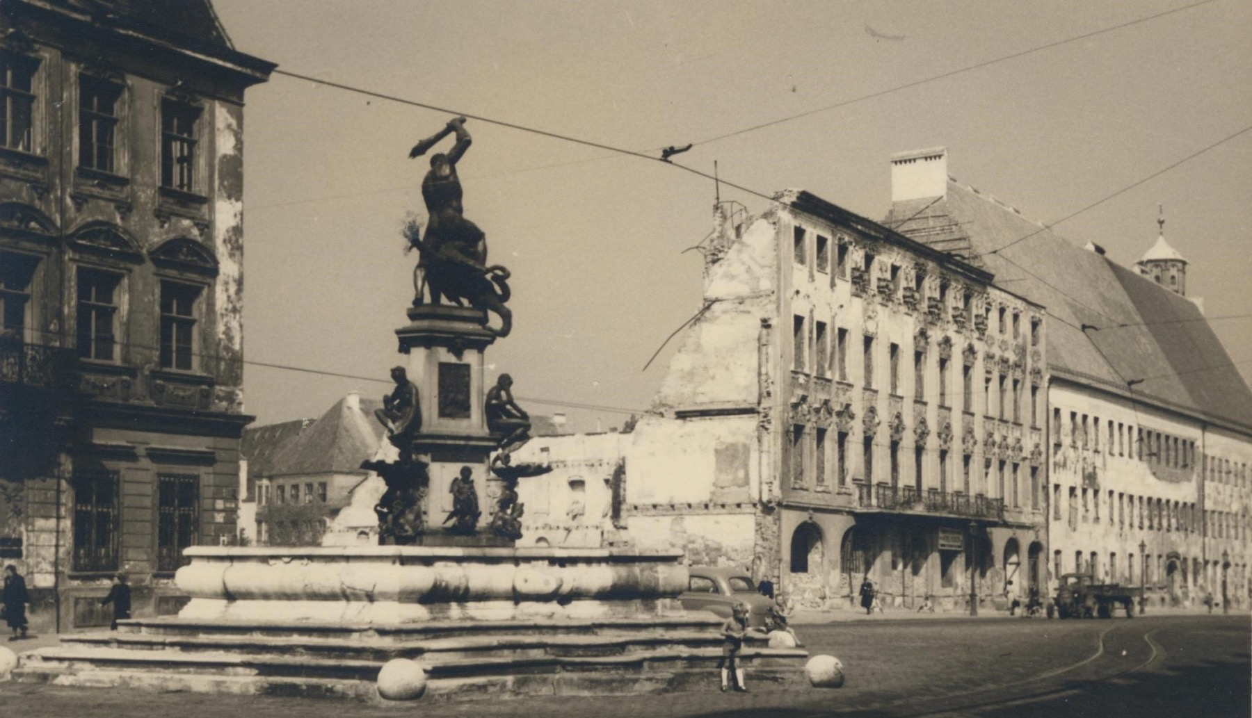 Drei Mohren 1950 – ©Privatsammlung: Gregor Nagler