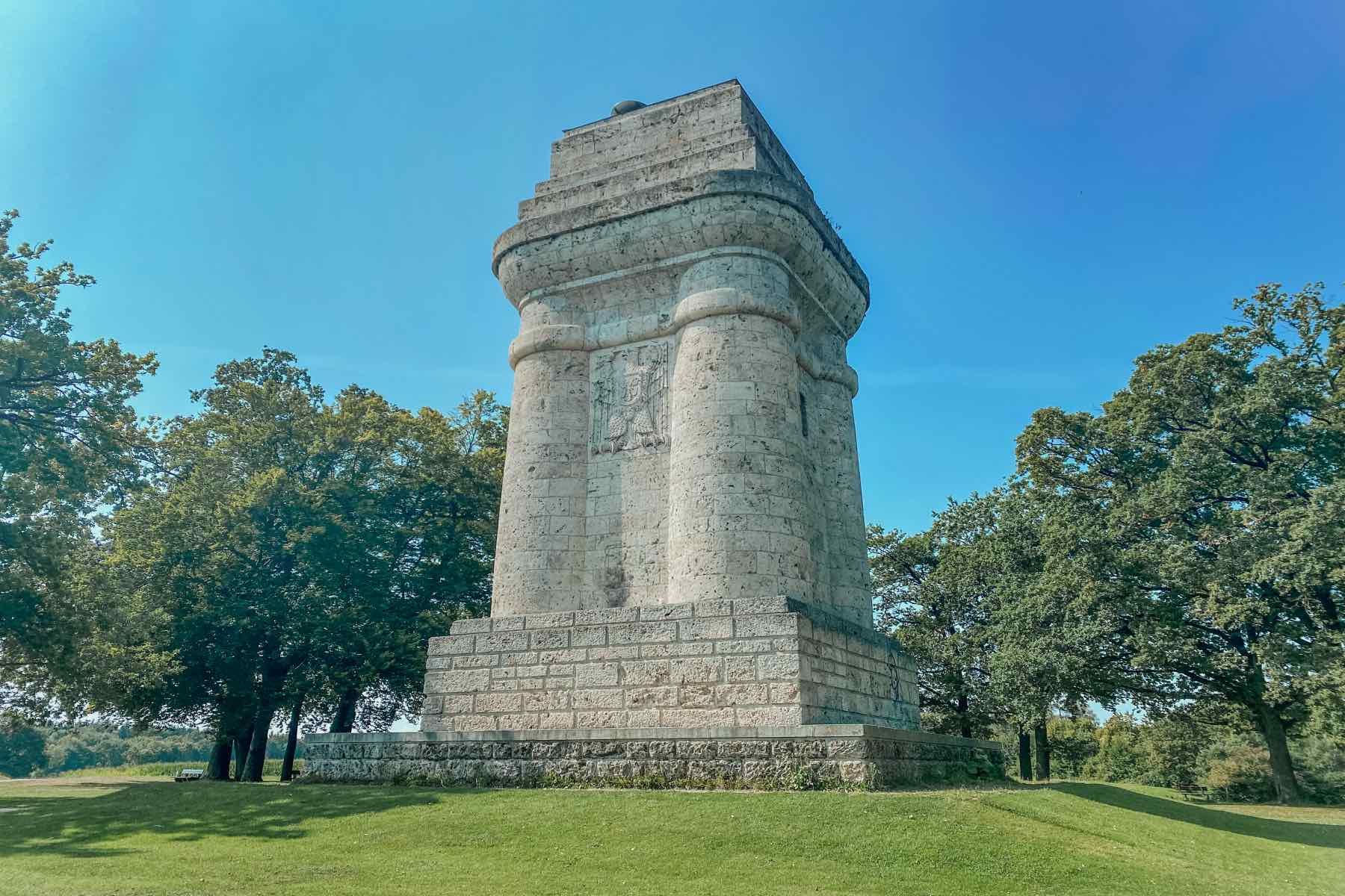 Geheimtipp Augsburg Bismarck Turm 2