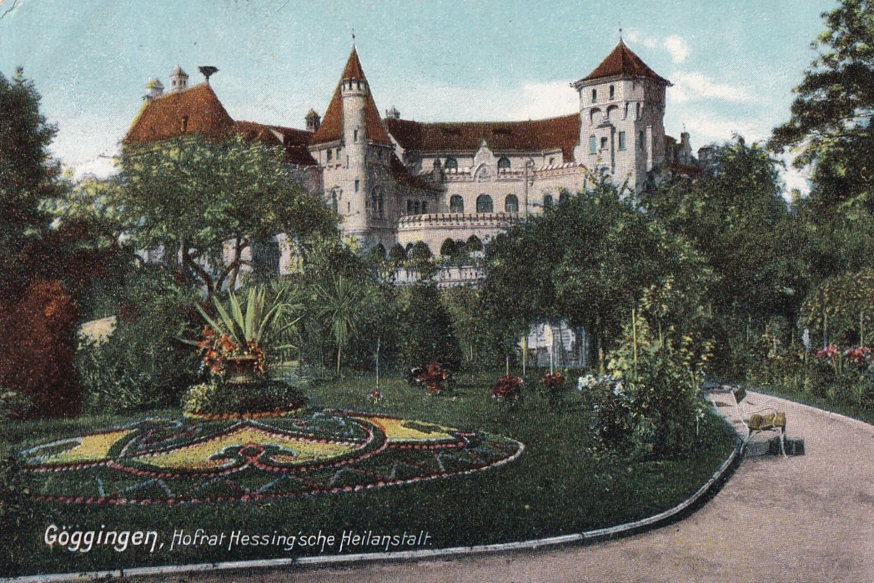 Die Burg um 1900  – ©Privat Sammlung Gregor Nagler