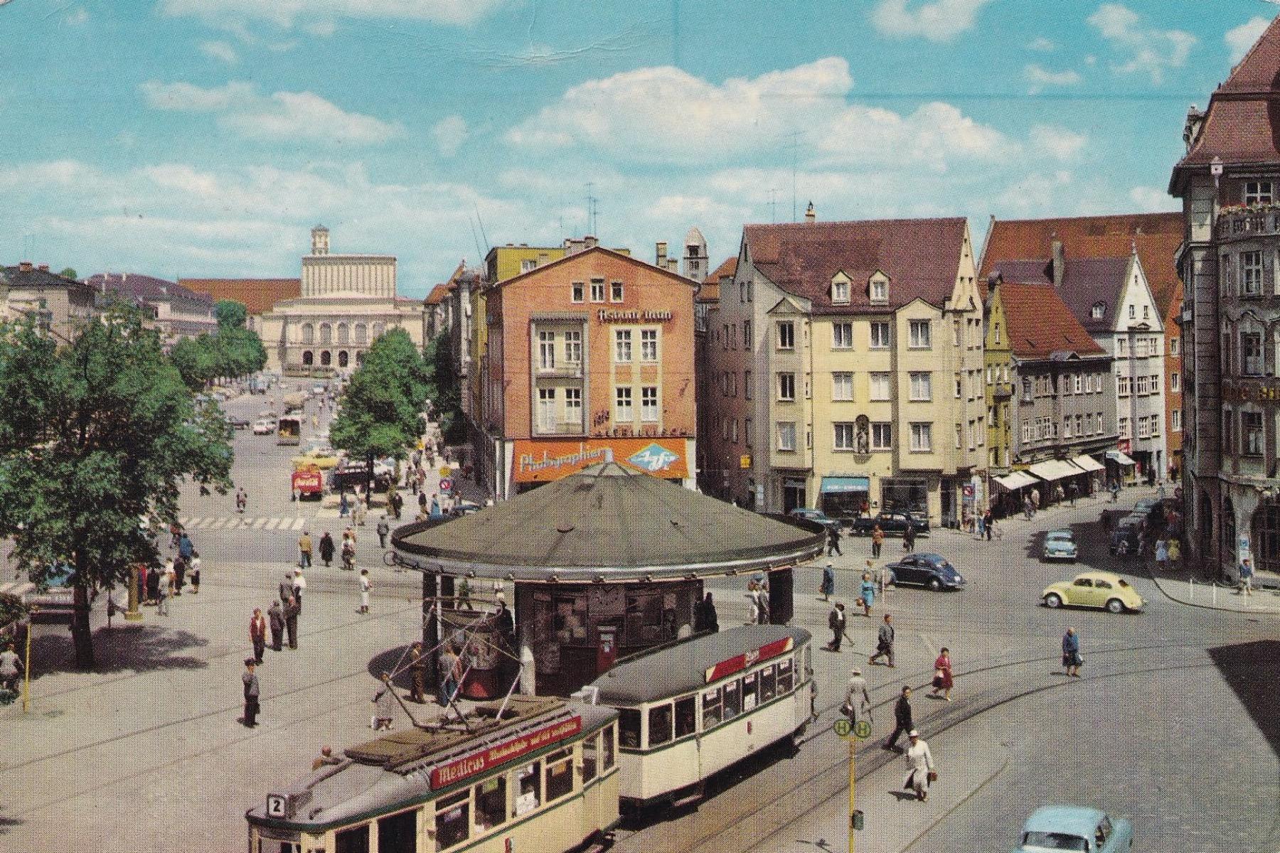 geheimtipp Augsburg Königsplatz – ©Privatsammlung: Gregor Nagler