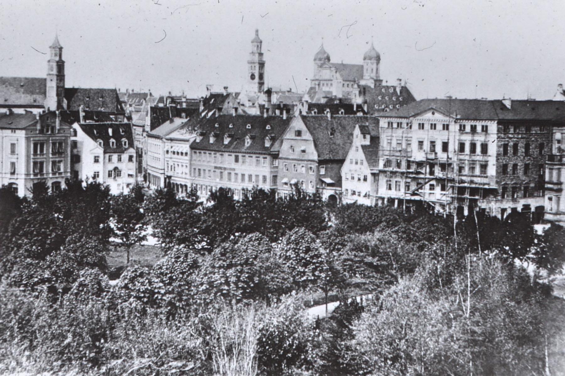 geheimtipp Augsburg Königsplatz – ©Stadtarchiv Augsburg