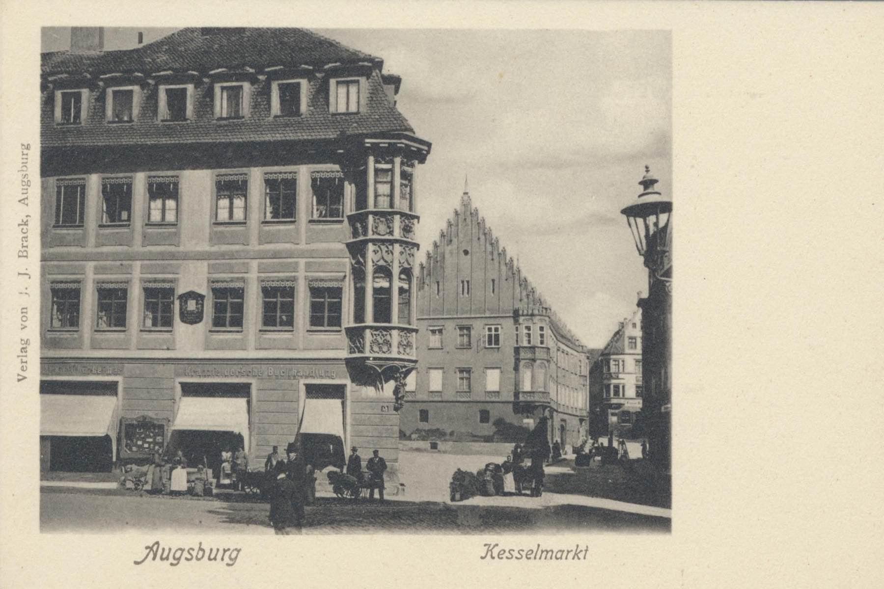 geheimtipp Augsburg Kesselmarkt – ©Privatsammlung: Gregor Nagler