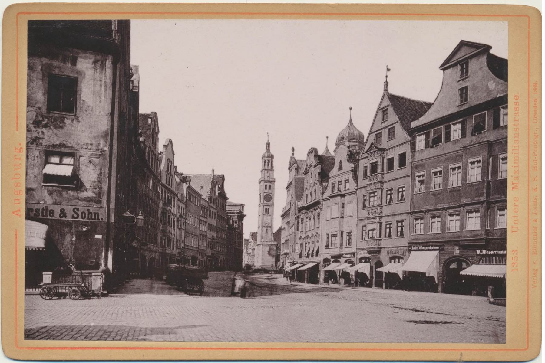geheimtipp Augsburg Maximilianstraße – ©Privatsammlung: Gregor Nagler