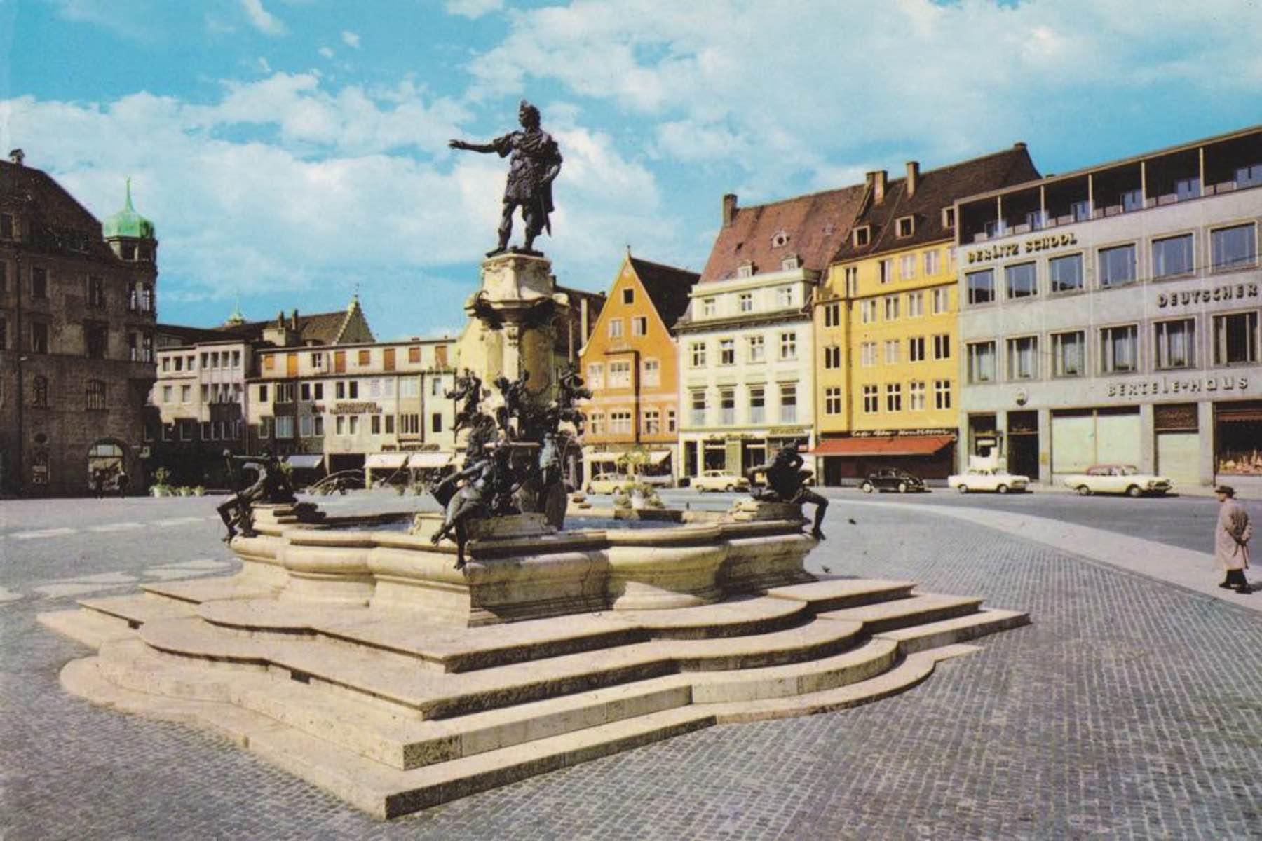 geheimtipp Augsburg Rathausplatz – ©Privatsammlung: Gregor Nagler