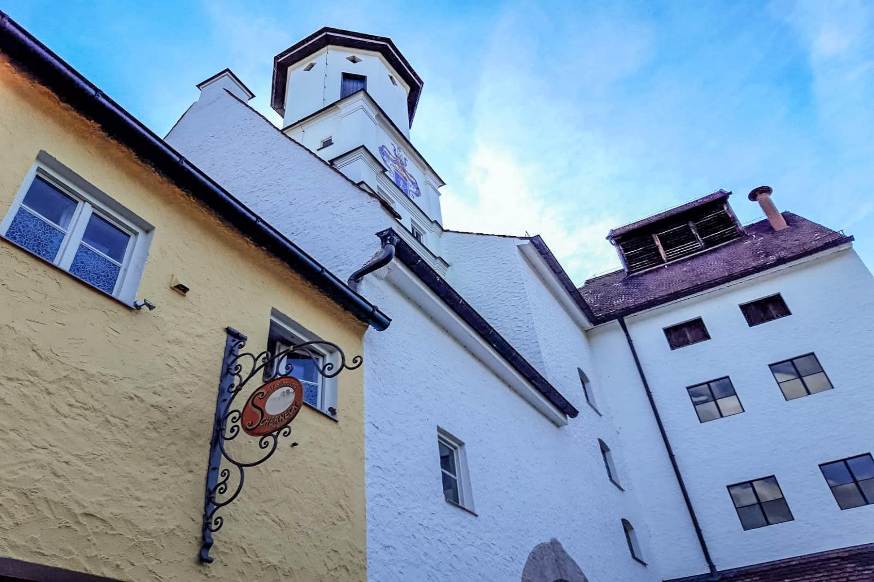 geheimtipp Augsburg Schloß Scherneck