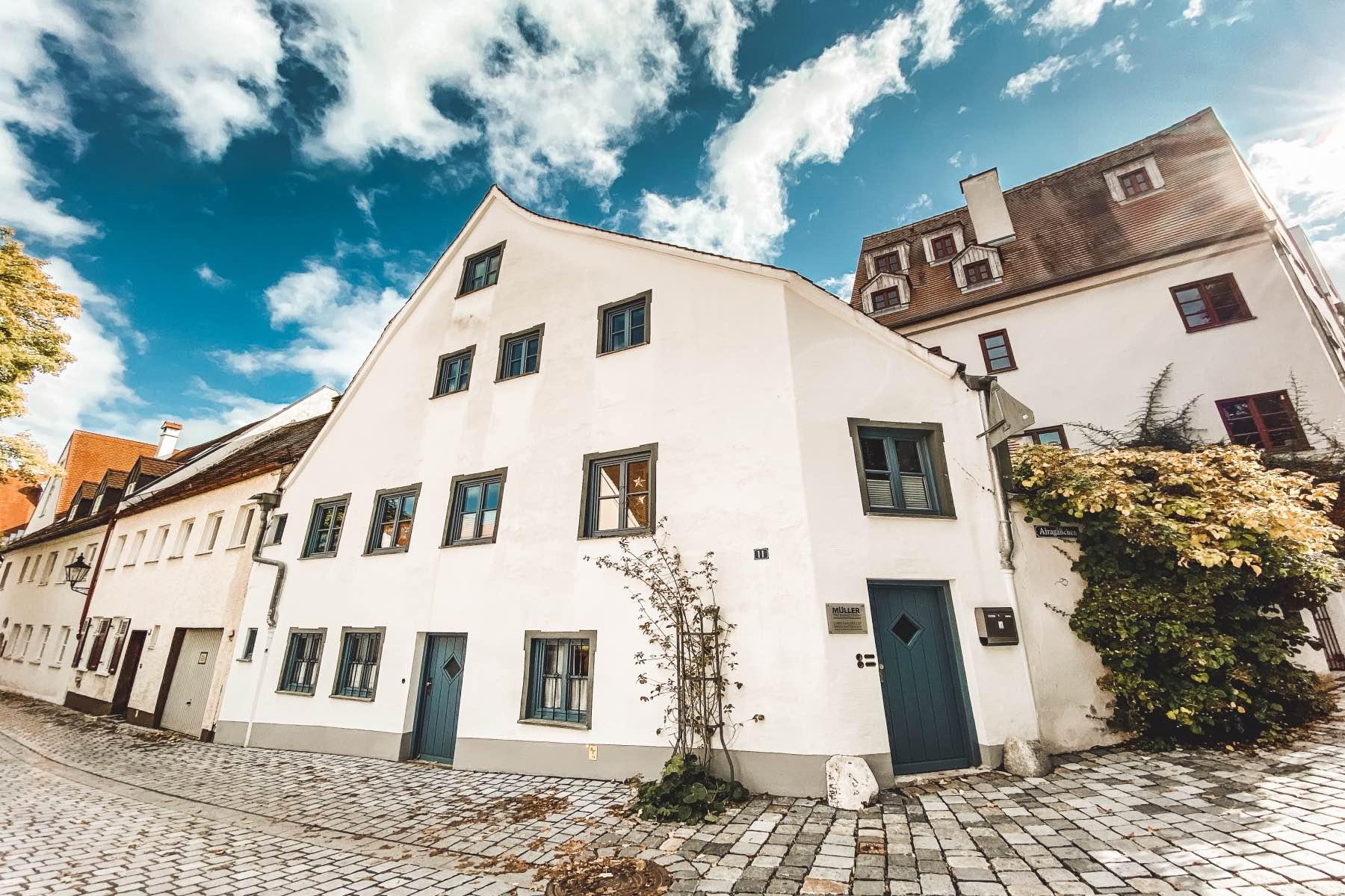 geheimtipp Augsburg Häuser
