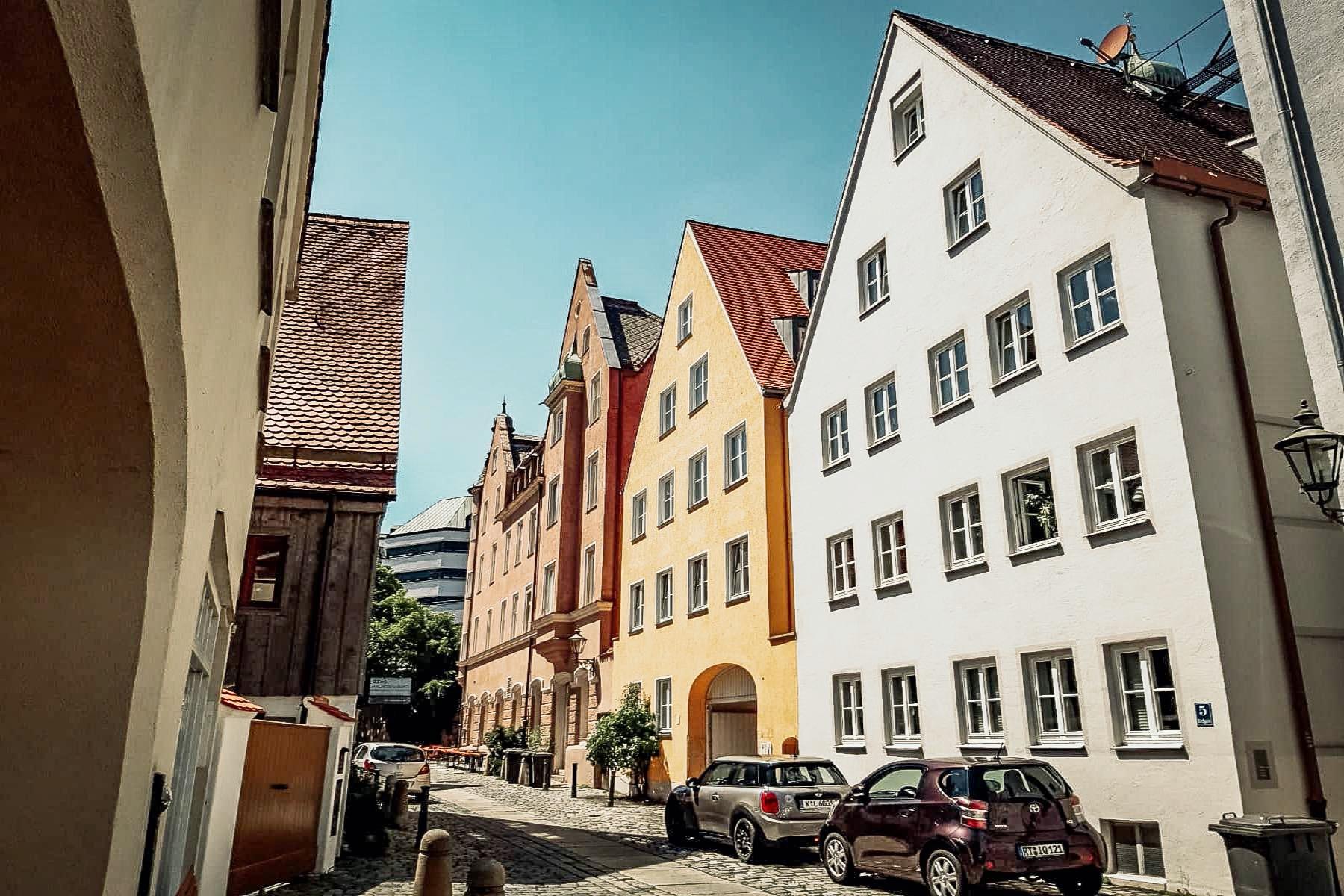 Augsburger Stadtteile Das Ulrichsviertel