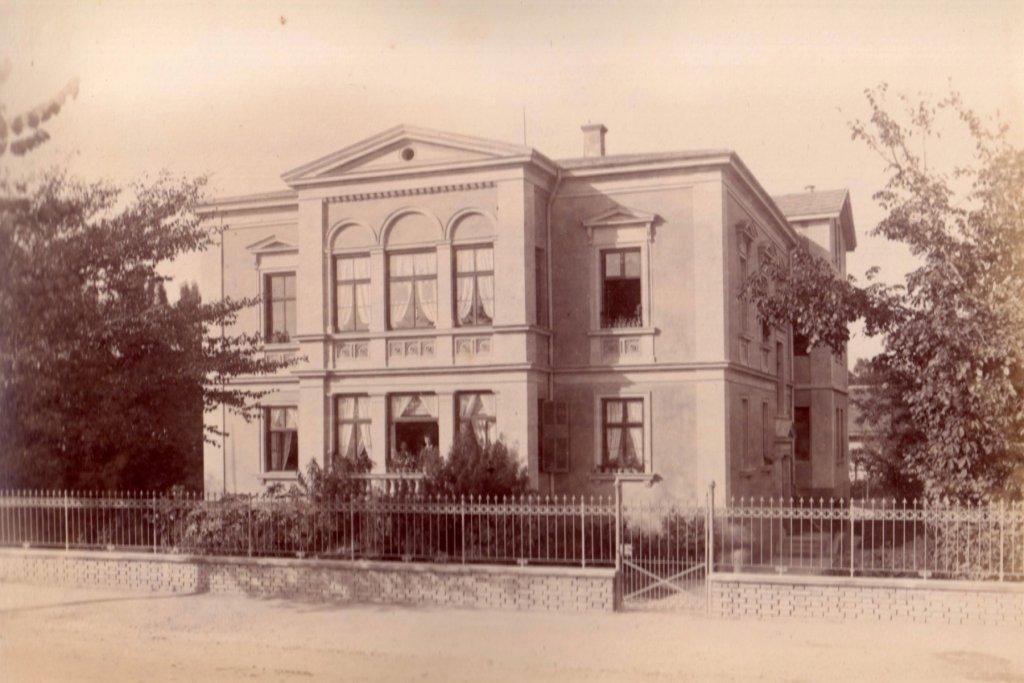 Stettenstraße um 1880 augsburg – ©Privatsammlung Gregor Nagler
