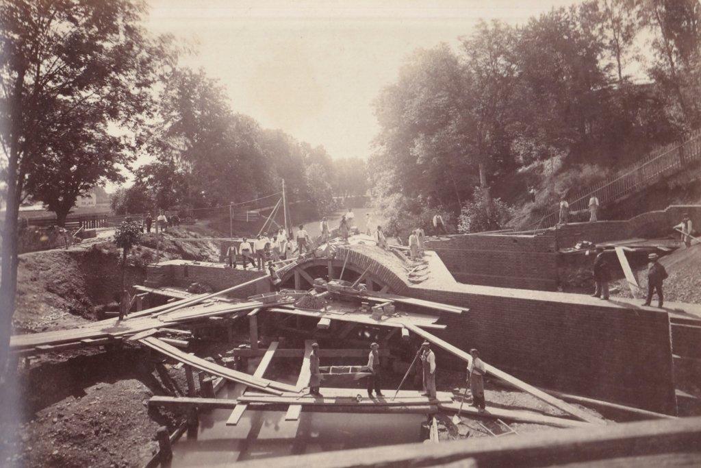 stephingertor brücke um 1880 augsburg – ©Privatsammlung Gregor Nagler