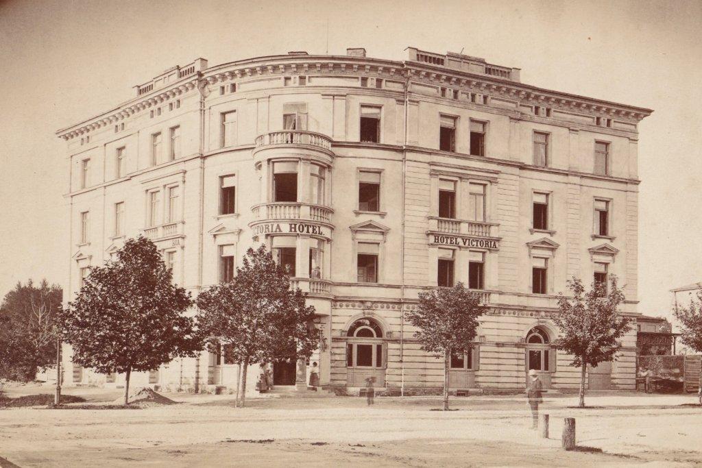 hotel viktoria um 1880 augsburg – ©Privatsammlung Gregor Nagler