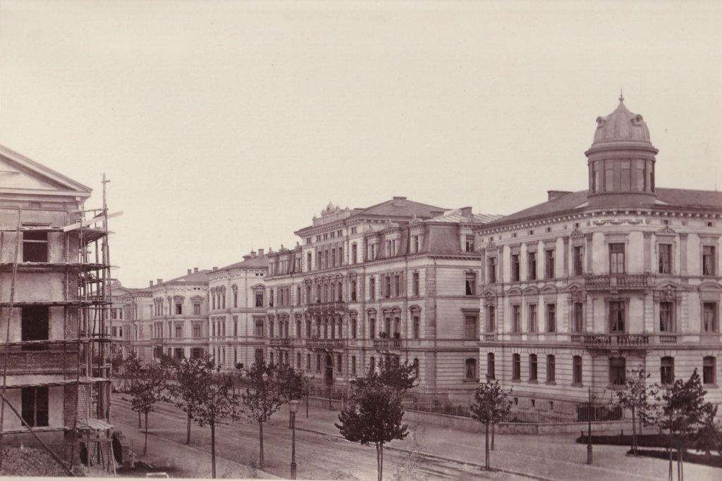 Klinkertorplatz um 1880 augsburg – ©Privatsammlung Gregor Nagler