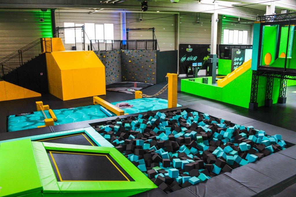 Big Jump Entertainment Park trapolin