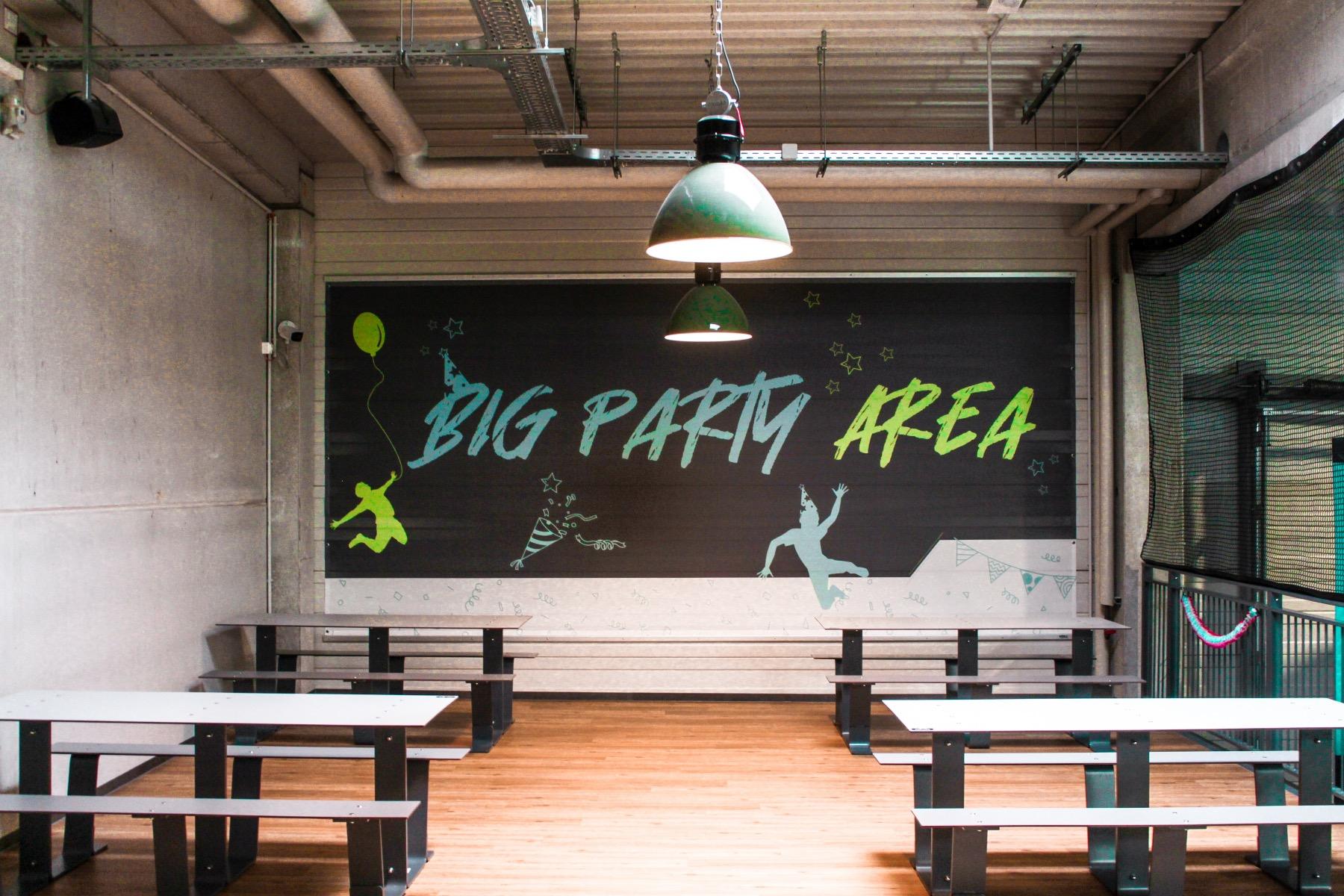Big Jump Entertainment Park party