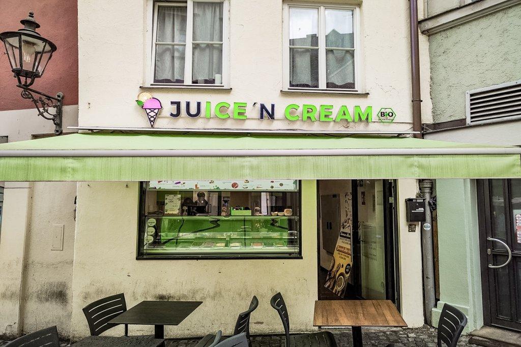 juice ´n cream Eisdiele