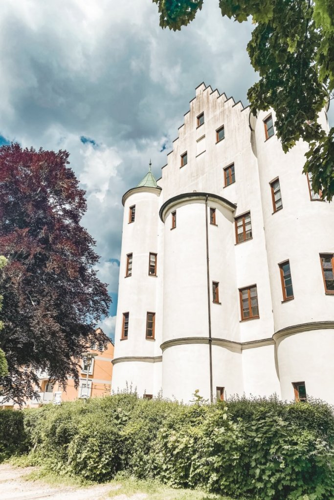 Schloss Pfersee in Augsburg Pferseer Schlössle